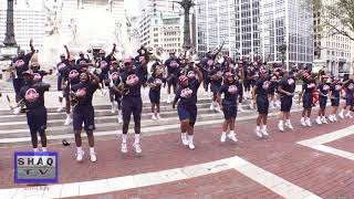 Howard University Showtime Marching Band #6 @ Circle City Classic Pep Rally