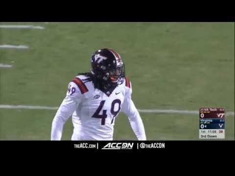 Virginia Tech LB Tremaine Edmunds Top Plays 2017