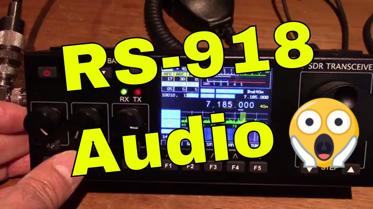 Recent RS-918ssb HF SDR Transceiver (direct audio)