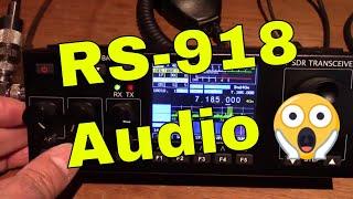 Recent RS-918ssb HF SDR Transceiver (direct Audio)