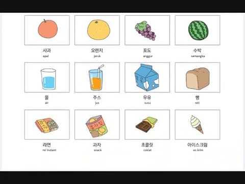 BELAJAR BAHASA KOREA ONLINE, GRATIS #BAB 11