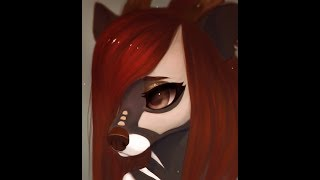 Drawing Timelapse - Civet commission