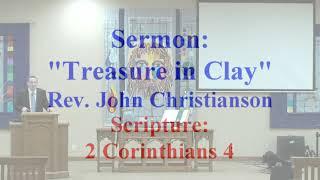2020 07 04 Sermon   Treasure in Clay