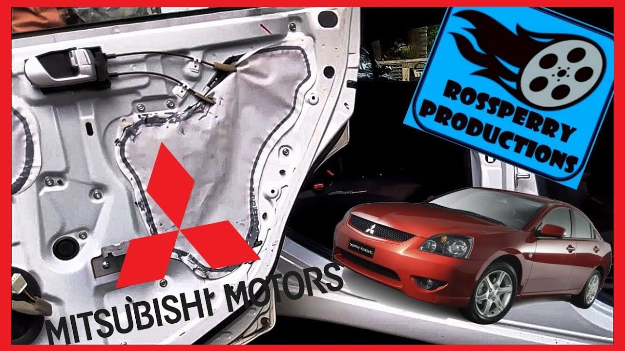 Mitsubishi 380 Galant Door Handle Interior Panel Card Removal Installation How To Tutorial Youtube