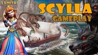 "SMITE Scylla Gameplay - ""So Much Death"""