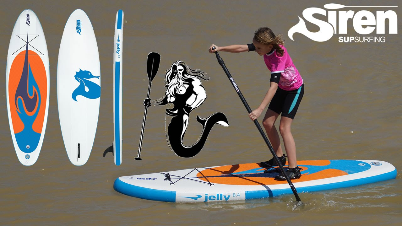 sup board kids siren jelly inflatable stand up paddle. Black Bedroom Furniture Sets. Home Design Ideas