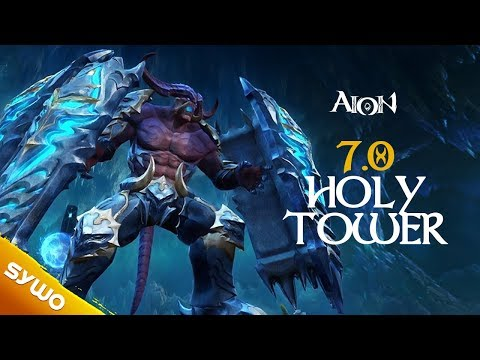 AION 7.0 Gameplay | Holy Tower Updated | Painter PoV