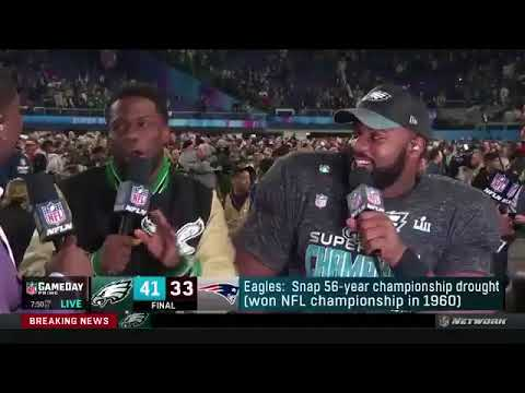 1b4d9d9a4181 Super Bowl  Kevin Hart Makes Surprise Appearance on NFL Network After Eagles  Win
