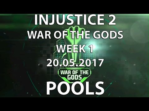 Injustice 2: War of the Gods Week 1 POOLS. Semiij, SonicFox, Perfect Legend, etc. Timestamps