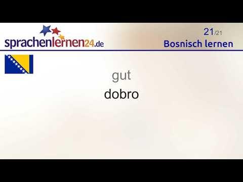 Bosnisch Lernen Teil 2 Youtube