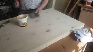 изготовление тёплых входных дверей,часть 2