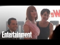 Download Video Pretty In Pink' Stars Reunion: Molly Ringwald, Jon Cryer & Annie Potts   Entertainment Weekly MP4,  Mp3,  Flv, 3GP & WebM gratis