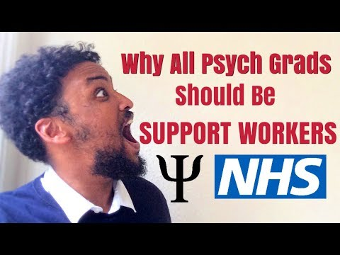 Why All Psychology Graduates Should Be Support Workers!