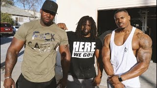 WILDEST BACK SESSION EVER - WEIGHTLIFTING FIENDS