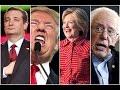 Hillary Vs Bernie, Trump Vs Cruz Heats Up | Election Results