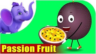Passion Fruit  - Fruit Rhyme in Ultra HD (4K)