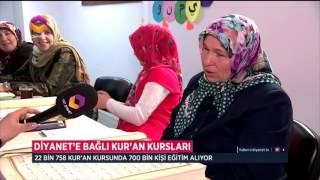 Diyanet'e Bağlı Kur'an Kursları 2017 Video
