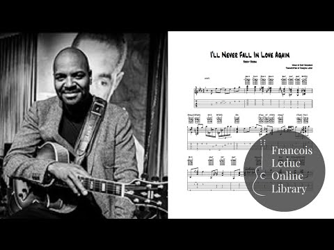 I'll Never Fall In Love Again - Bobby Broom (Transcription)