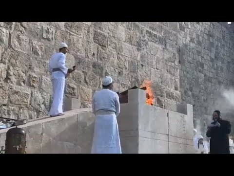 "Sanhedrin ""Third Temple"" Ritual in Jerusalem (R$E)"