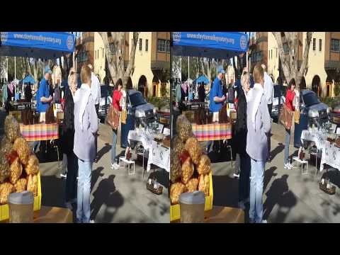 Concord California Town Square Antique Show shot in 3D