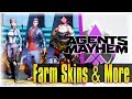 How To Farm Skins, Legion Tech, & Resources Fast!!! | Agents of Mayhem Guide