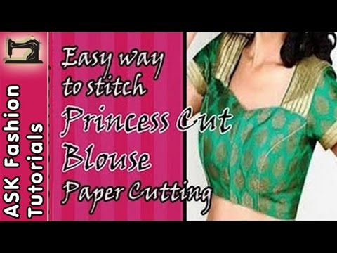 Simple Blouse cutting and stitching in Hindi - Vloggest