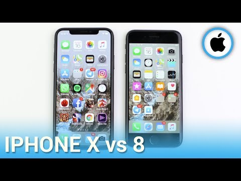 iPhone X vs iPhone 8, confronto in italiano