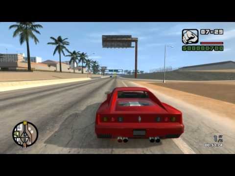 GTA IV - San Andreas Beta ³ ' Exclusive Gameplay 7 (Multiplayer Races) HD