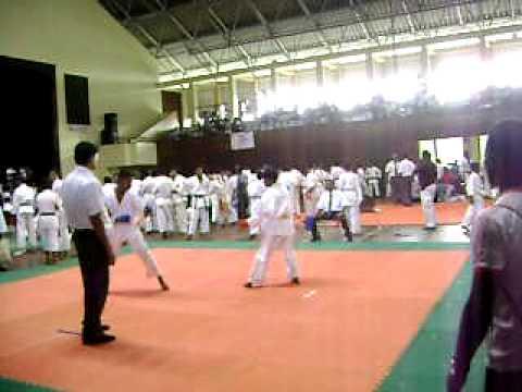 Martial art karate tournament under 15 year
