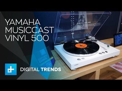 yamaha musiccast vinyl 500 turntable hands on at ifa. Black Bedroom Furniture Sets. Home Design Ideas