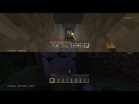 Minecraft: Filip and Lars Magnus fight against monsters