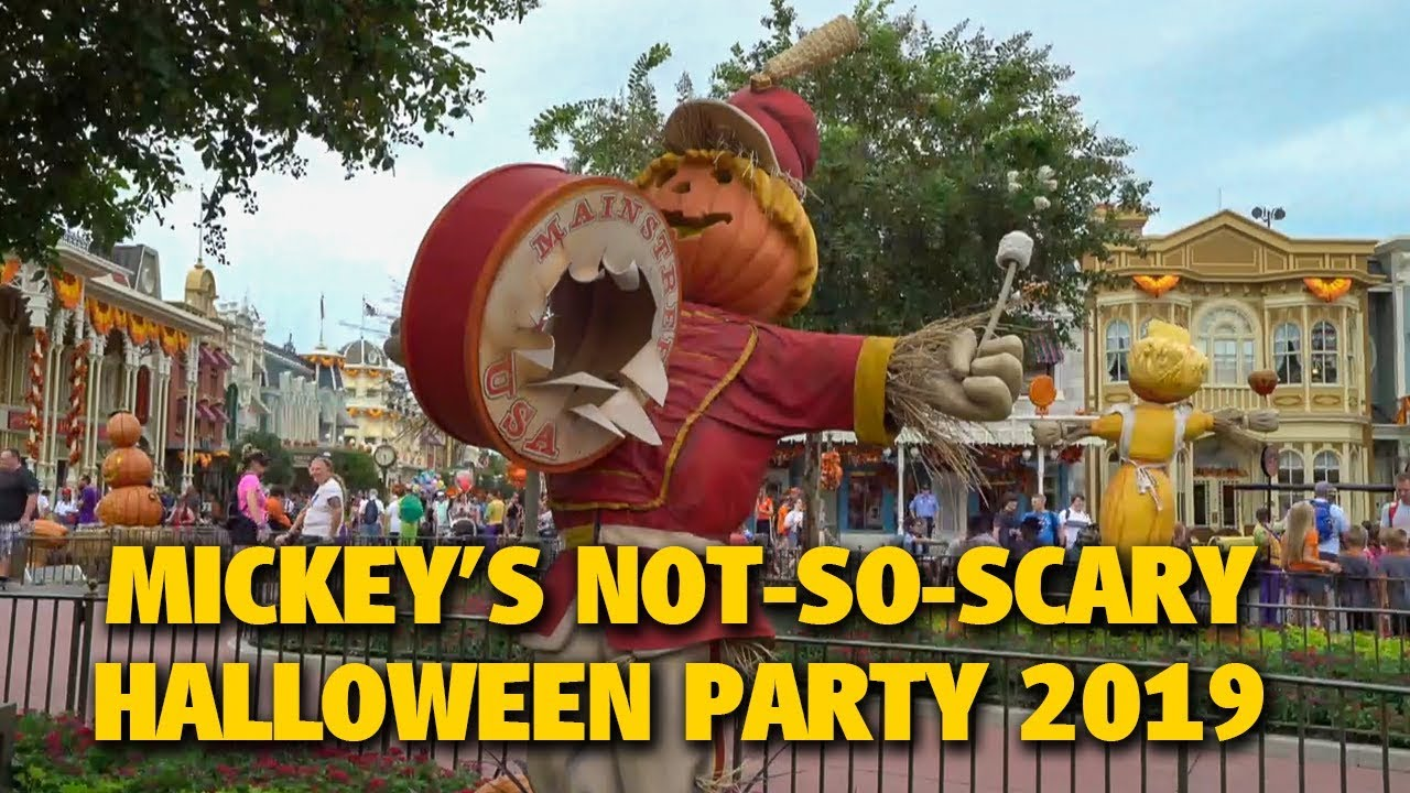 Disney Not So Scary Halloween Party 2020 Trailer 2020 Mickey's Not So Scary Halloween Party at Walt Disney World