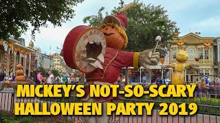 Mickey's Not-So-Scary Halloween Party 2019 Overview