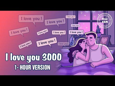 Học tiếng Anh qua bài hát | I Love You 3000 1 Hour Version | Vietsub by TOPICA Native