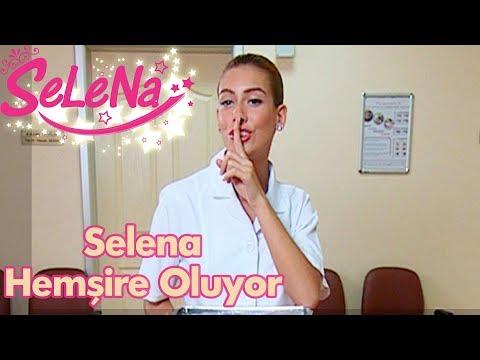 Selena hemşire oluyor
