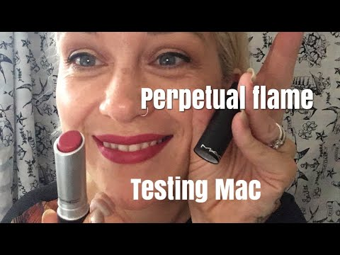 MAC pro wear Lip Creme! Perpetual Flame 🔥