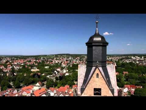 Hessen von oben: