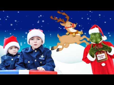 Download Youtube: The Grinch takes magical reindeer food from North Pole