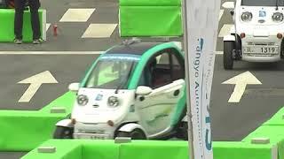 В Южной Корее открылся автосалон с автомобилями-беспилотниками