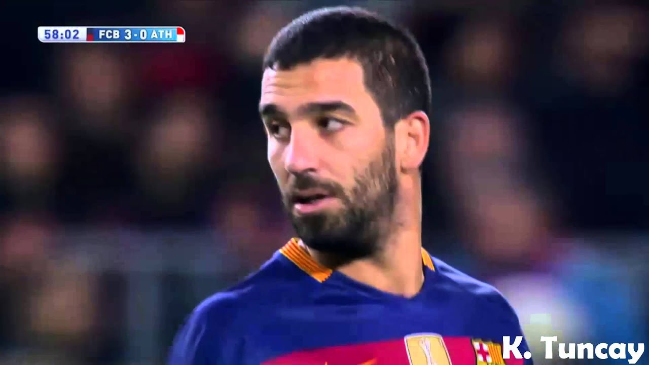Arda Turan vs Athletic Bilbao ☆ Barcelona ☆ HD ☆