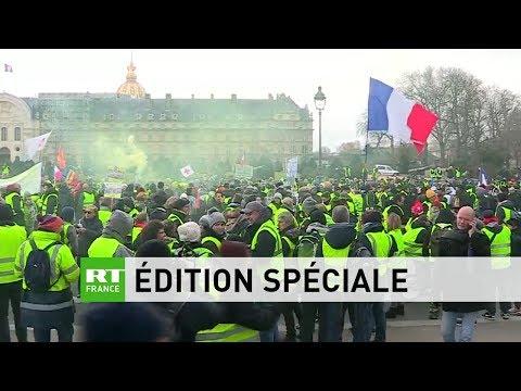 Edition spéciale #RTFrance : suivez les manifestations des Gilets Jaunes