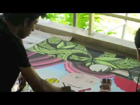 MURAL ART at design festival - surabaya (long version)
