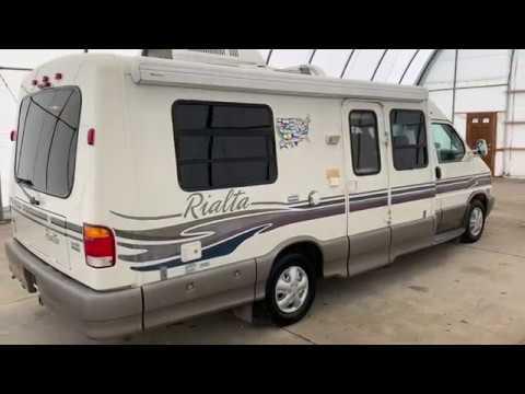 1999 Winnebago Rialta 22QD Class B Motorhome FOR SALE www truckandrv com