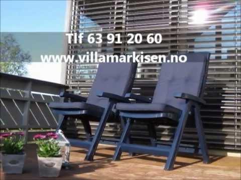 Smarte ressurser Utvendige persienner Oslo - Villamarkisen AS - YouTube HJ-73