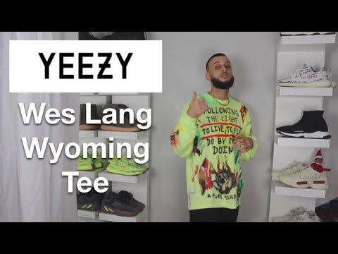 WATCH BEFORE YOU BUY. YEEZY WES LANG