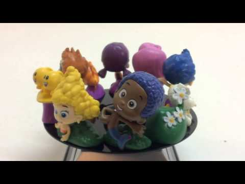 Nickelodeons Bubble Guppies Cake Toppers