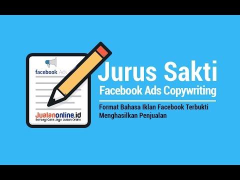Contoh Bahasa Iklan Facebook yang Menghasilkan Konversi / Penjualan ( Ads Copywriting )
