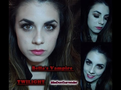 Maquillaje Bella vampira ! / Bella's vampire makeup BREAKING DOWN ( TWILIGHT) Videos De Viajes
