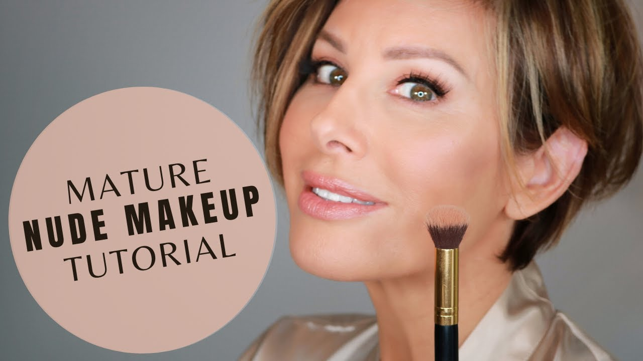 Nude Makeup Tutorial For The Mature Woman | Dominique Sachse