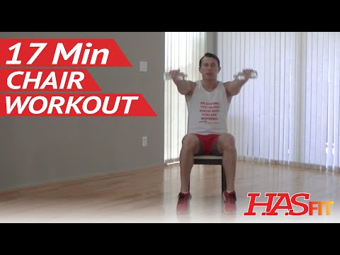 17 Min Chair Exercises for Seniors & Beginners – HASfit Senior Exercises for the Elderly Workout